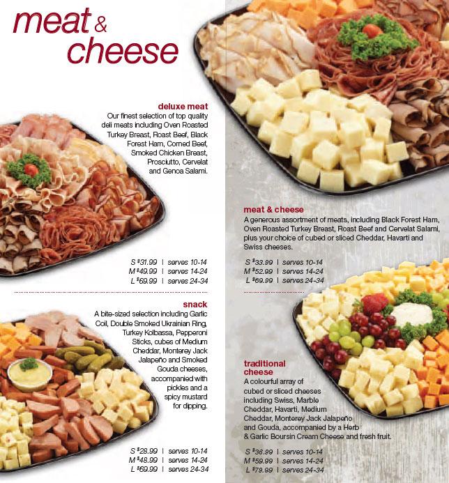 Party Platters Overwaitea Foods